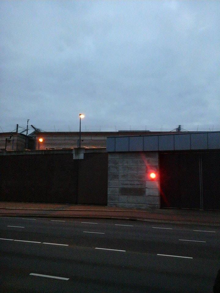 Une entrée du centre de détention de la CPI à Sheveningen, crédit photo : M. Zoro