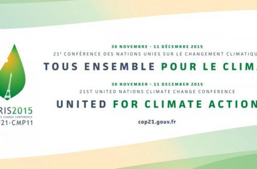 Article : Conférence sur le climat à Paris : Y'a drap !