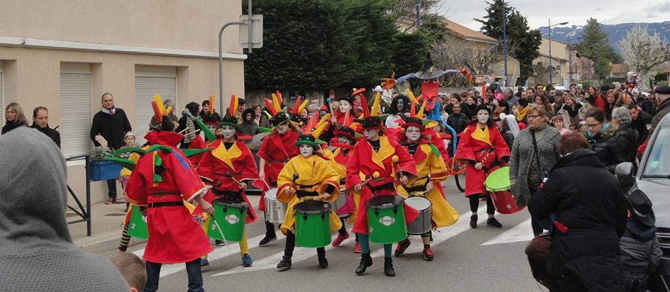 Les Magiques Petits Tambours de la ville de Valence, crédit photo : Les Magiques Petits Tambours