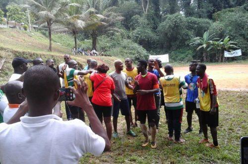 Article : L'OIPR organise un tournoi de maracana au sein du Parc national du Banco