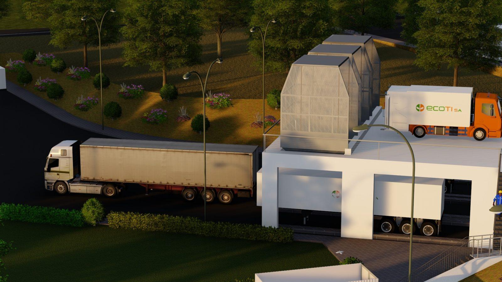 Centre de transfert des déchets