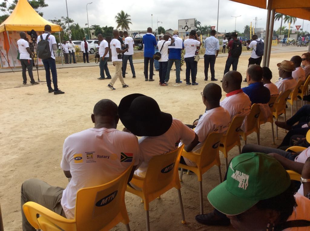 Mandela 2018 à Abidjan